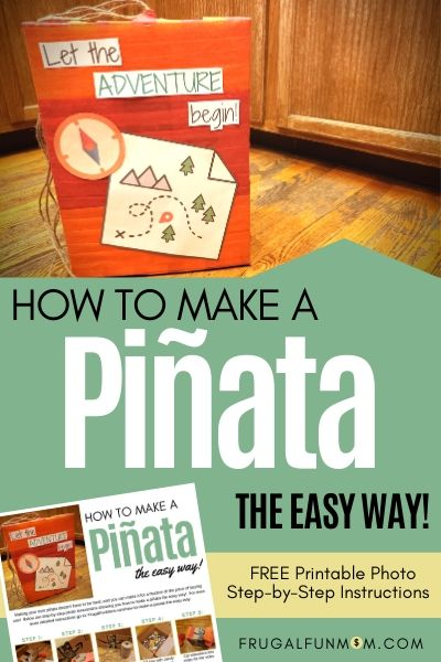 How To Make A Pinata The Easy Way   Frugal Fun Mom