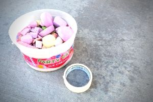 Sidewalk Chalk Supplies | Frugal Fun Mom