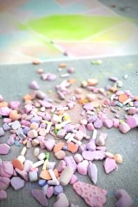 Make Homemade Chalk | Frugal Fun Mom